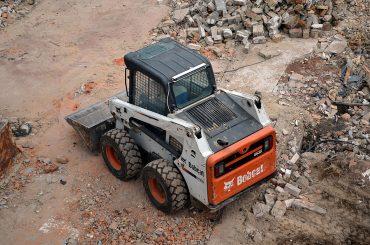 Bobcat hire for demolition