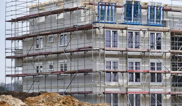 The Long Building History of Scaffolding Hire